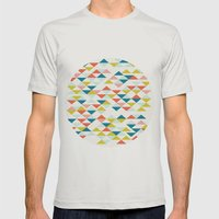 Colombia Mens Fitted Tee Silver SMALL