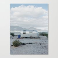 Mexicoast Trailer Life Canvas Print