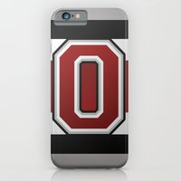 OSU Glove Stripe iPhone 6 Slim Case