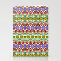 Happy Pattern 001 Stationery Cards