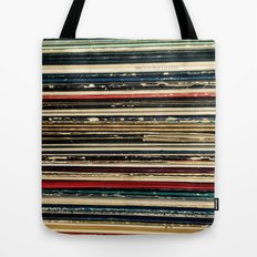 Records Tote Bag