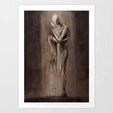 Entropy of Love Art Print