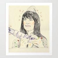 abbi Art Print