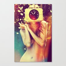 SEX ON TV - WAKE UP by ZZGLAM Canvas Print