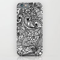 Flower Fountain iPhone 6 Slim Case
