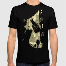 Life After Vault 111 Mens Fitted Tee Black SMALL