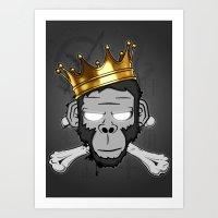 The Voodoo King Art Print