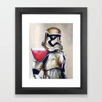 First Order Stormtrooper Framed Art Print