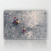 Monks in the city Laptop & iPad Skin