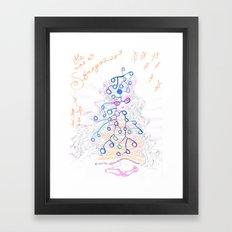 He was a stargazer Framed Art Print