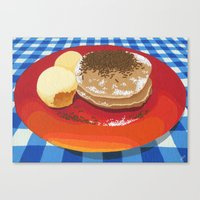Pancakes Week 15 Canvas Print