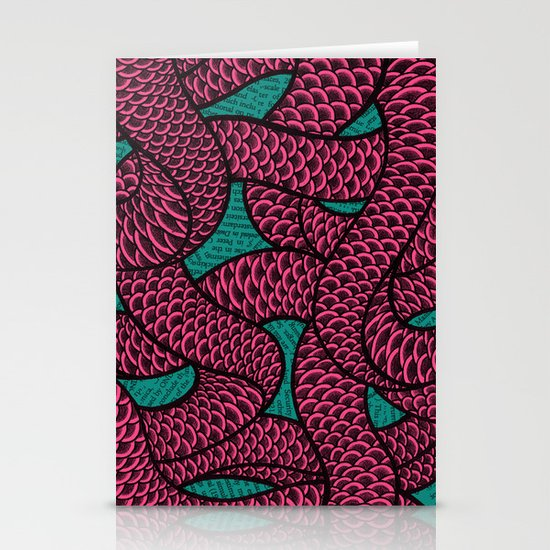 Coils Stationery Card