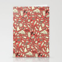 Filthy Lunch Dance Party Stationery Cards
