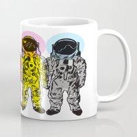 CMYK Spacemen Mug