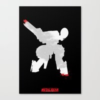 Metal Gear Solid - If you understand this .. it hurts (2) Canvas Print