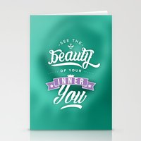 See the beauty of your inner you Stationery Cards