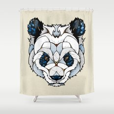 Big Panda Shower Curtain