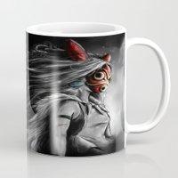 Miyazaki's Mononoke Hime… Mug