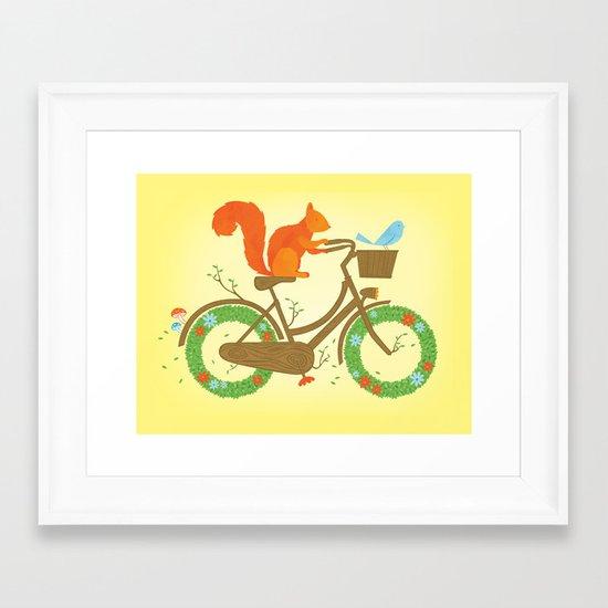 Natural Cycles Framed Art Print