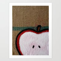 Apple Art Print
