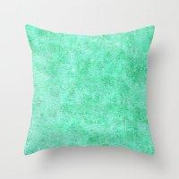 Jade Texture Throw Pillow