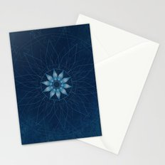 Crystal Flower Mandala Stationery Cards