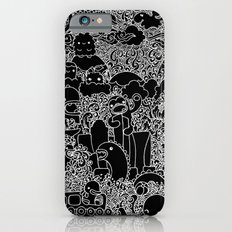Oodles of Doodles of Singapore (Black) Slim Case iPhone 6s