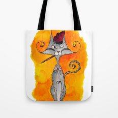 Dalí Cat Tote Bag