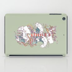 Whales and Waves iPad Case