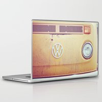 vw Laptop & iPad Skins featuring vw by shannonblue