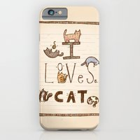 I Loves Cat iPhone 6 Slim Case