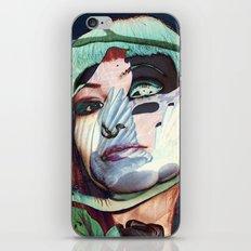 ELISA_GLITCH_IN THE SKY MIT MELANCHOLIE_ iPhone & iPod Skin