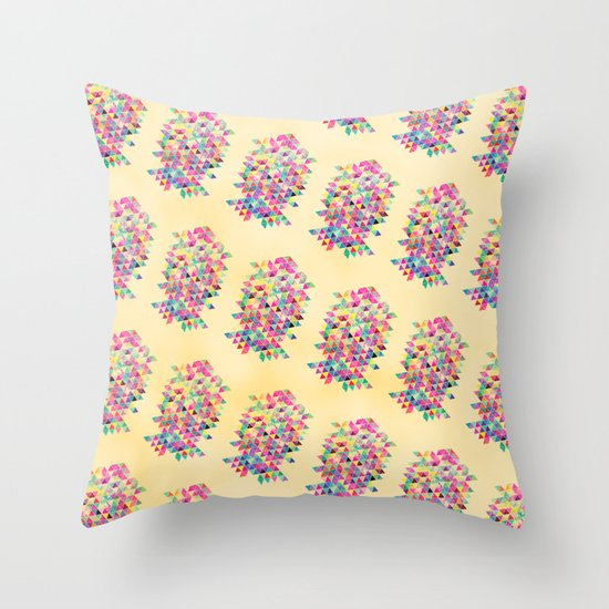 Kick of Freshness Throw Pillow