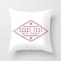 Order Throw Pillow