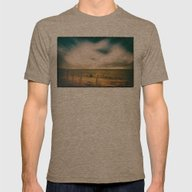 The Arrival Mens Fitted Tee Tri-Coffee SMALL
