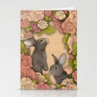 Rosie Rabbits Stationery Cards