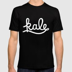 Kale  Mens Fitted Tee Black SMALL
