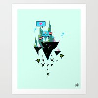 Judge Jelly Art Print