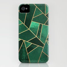 Emerald and Copper Slim Case iPhone (4, 4s)