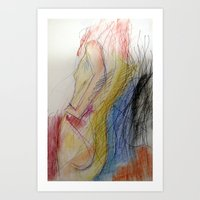 Klooster Series: Female Nude #11 Art Print