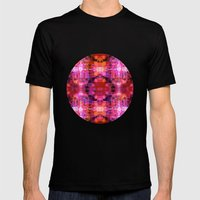 Fool For Fuschia Mens Fitted Tee Black SMALL