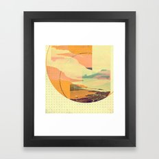 (sky)land Framed Art Print