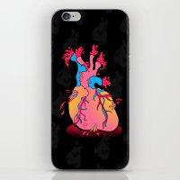 heartburst iPhone & iPod Skin