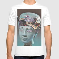 Apathy Mens Fitted Tee White SMALL