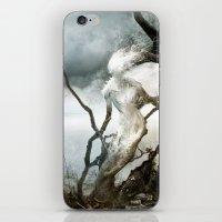 Dame Blanche pour Château Noir iPhone & iPod Skin
