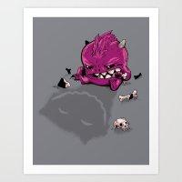 Little Guy Art Print