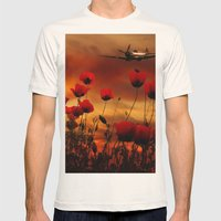 Fields Of Fire Mens Fitted Tee Natural SMALL