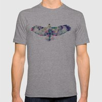 Hawk Mens Fitted Tee Athletic Grey SMALL