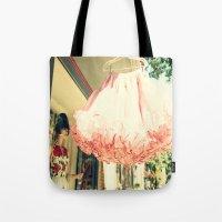 Crinoline Skirt  Tote Bag