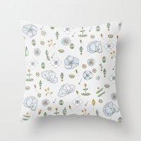 Watercolor Toribio Throw Pillow